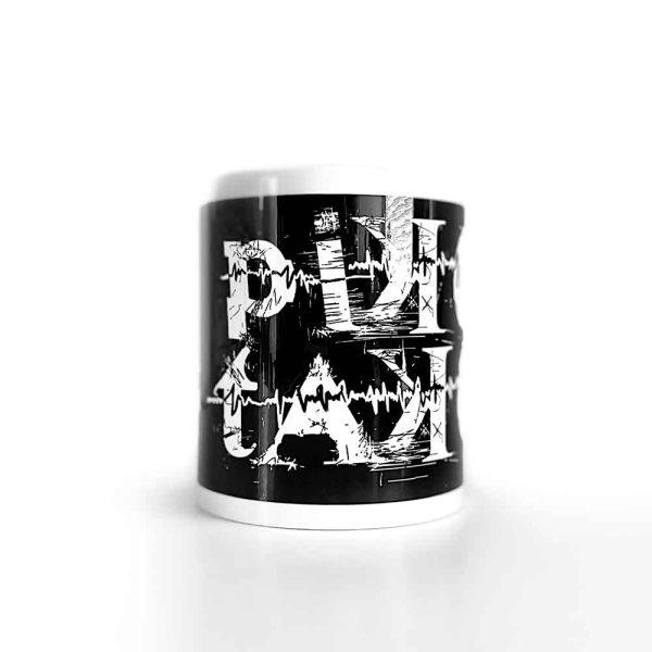 Pikotako Classic Black Low Mug