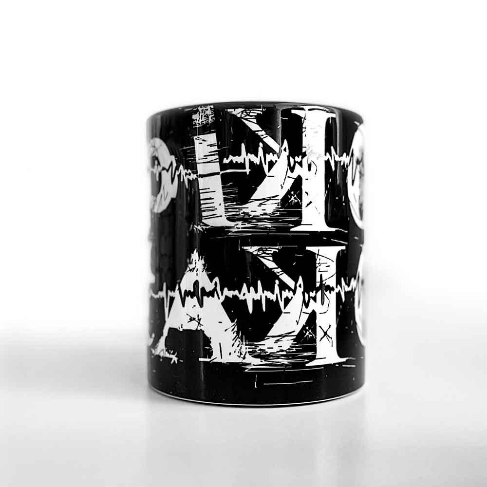 Pikotako Classic Black High Mug