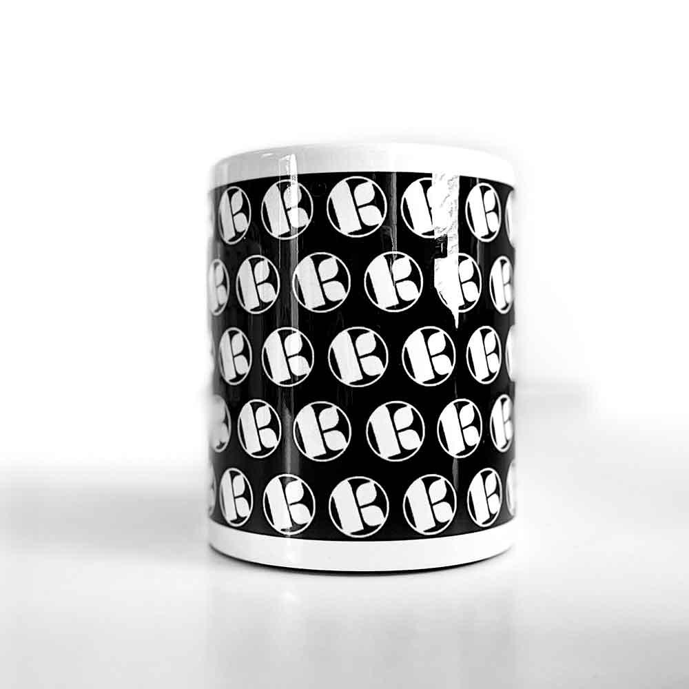 Kubu Music Classic Mosaic Black Mug